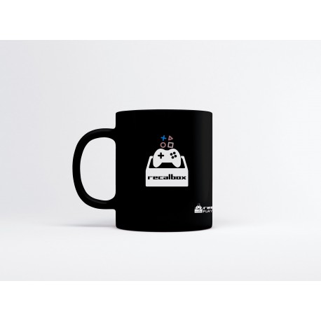 "Mug officiel Recalbox ""Play Again"""