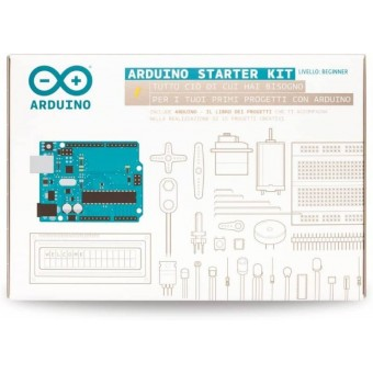 Starter kit arduino version Italienne