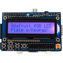 RGB Positive 16X2 LCD + Kit Clavier Raspberry Pi