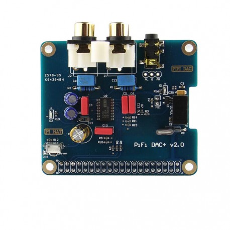 Carte son HIFI DAC+ port I2S pour Raspberry Pi