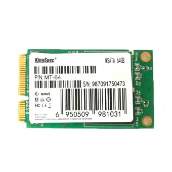 KingSpec SSD 64Gb mSATA