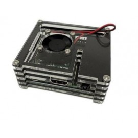 Boitier Raspberry pi A+ avec emplacement pour ventilateur