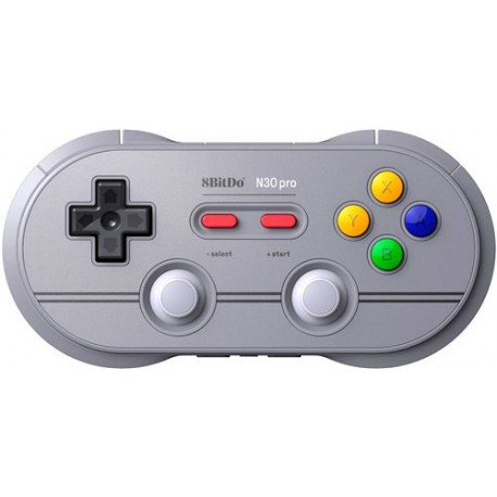 Manette Gamepad Bluetooth 8Bitdo N30 Pro2 6 Gris