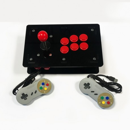 Console Retrogaming Arcade Multiplayer DIY