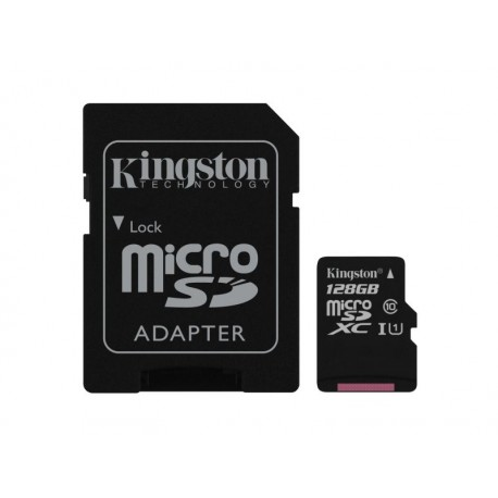 Carte MicroSD Kingston UHS-I CL10 SDCS/128GB