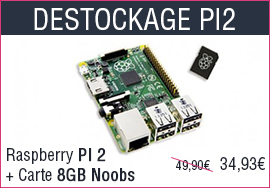 Destockage Raspberry Pi 2
